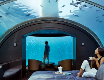 Stay in the World's First Underwater Villa at Conrad Maldives Rangali Island