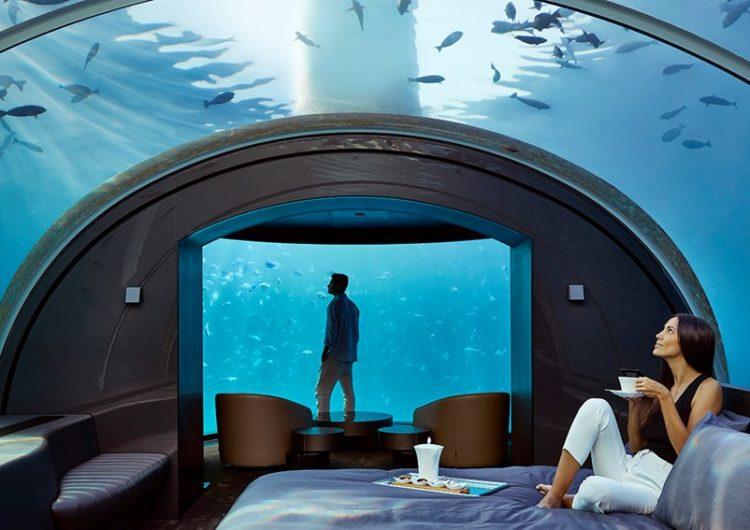 Stay in the World's First Underwater Villa at Conrad Maldives Rangali Island