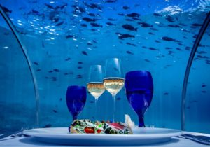 Fine Dining in the Maldives